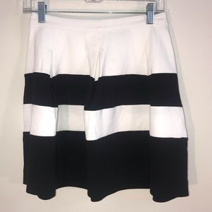 Express Stripped Skirt